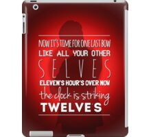 The day of the Doctor iPad Case/Skin