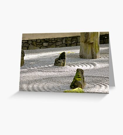 Zen-ness Greeting Card