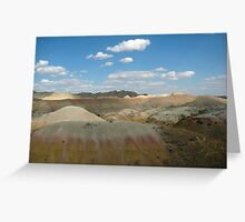 Badlands Beauty In Color Greeting Card