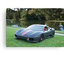 Ferrari F430 'Challenge' Canvas Print