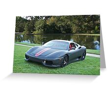 Ferrari F430 'Challenge' Greeting Card