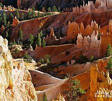 Bryce Canyon by Jens  Larsen