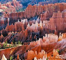 Bryce Canyon by Jens  Larsen