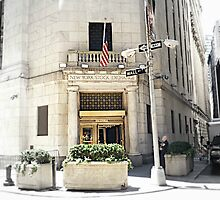 New York Stock Exchange  by Skymall007