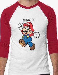 Mario Men's Baseball ¾ T-Shirt