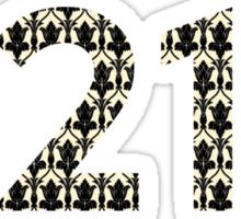 221B Sherlock Sticker
