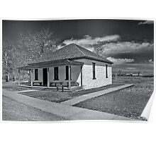 Ft. Bridger Guardhouse 1888 - 1890  Poster