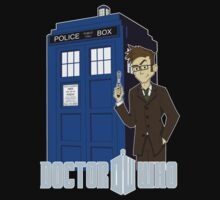 Dr Who Animated (no background) by TheDorkKnight
