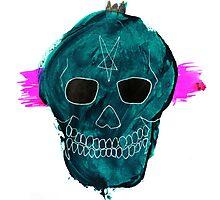 Cool Skull Photographic Print
