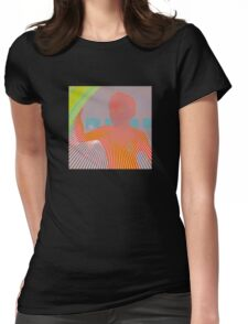 "Flaming Lips ""Peace Sword"" Womens Fitted T-Shirt"