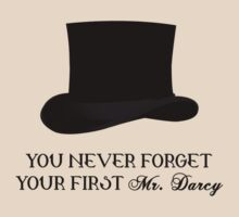 You never forget your first... Mr. Darcy by angelic37