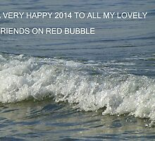 Happy 2014 To My Beloved Bubblers by Fara