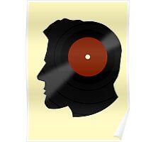 Vinyl Records Lover - The DJ - Vinylized Man T Shirt Poster