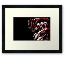 the pokemon groudon Framed Print