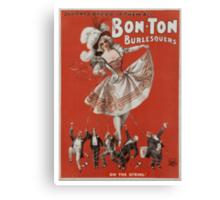 Bon-Ton Burlesquers - 365 days Canvas Print