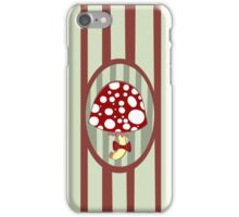 Classy mushroom iPhone Case/Skin