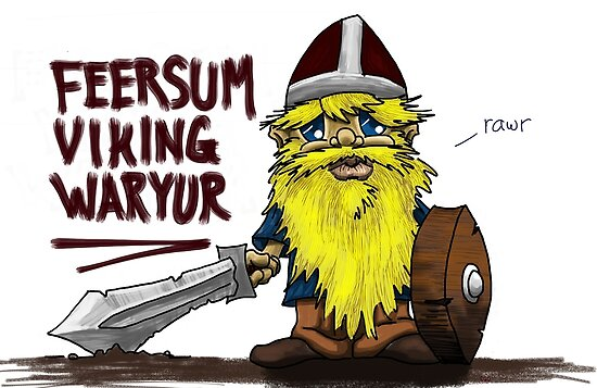 Feersum Viking Waryur by vikingsbooksetc