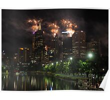 New Year's Eve on the Yarra Poster