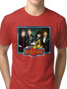 Kid Video - Group - 1980's Tri-blend T-Shirt