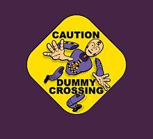 Crash Test Dummies - Caution Dummy Crossing - Purple Dummy Unisex T-Shirt