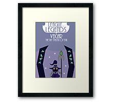 League of legends - Veigar the tiny master of evil Framed Print