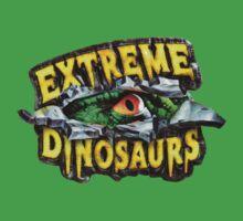 Extreme Dinosaurs - Logo Kids Clothes