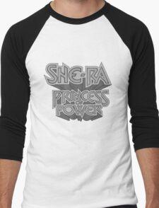 She-Ra Princess of Power - Logo - Black & White Men's Baseball ¾ T-Shirt