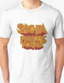 She-Ra Princess of Power - Logo - Color T-Shirt