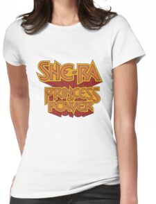 She-Ra Princess of Power - Logo - Color Womens Fitted T-Shirt
