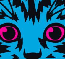Blue Kitten Twelve Sticker