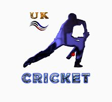 UK Cricket Collectors Tee-Shirts and Stickers Unisex T-Shirt