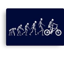 Evolution BMX Canvas Print