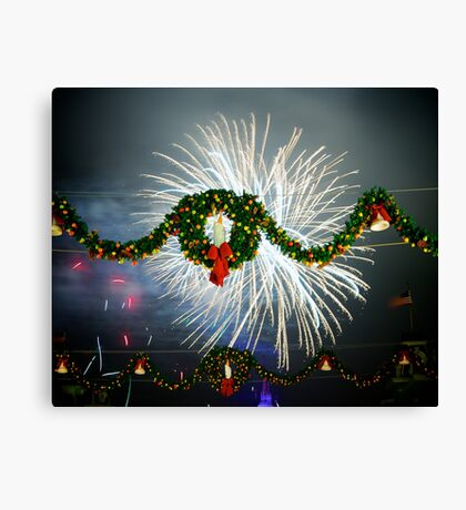 Boom Goes Christmas Canvas Print