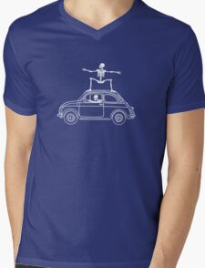 Fiat Surfing Mens V-Neck T-Shirt
