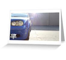 20th Anniversary Volkswagen GTI  Greeting Card