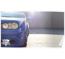 20th Anniversary Volkswagen GTI  Poster