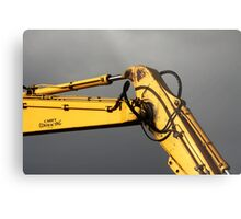 Yellow Arm Metal Print