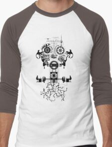 Ghost In The Machine Men's Baseball ¾ T-Shirt