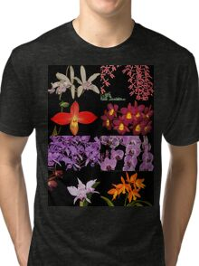 Orchid Collage TShirt Tri-blend T-Shirt