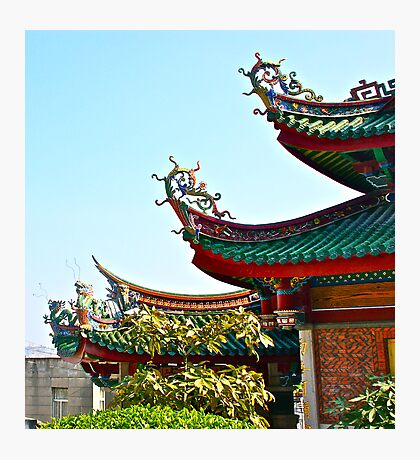 Oriental ornaments Photographic Print