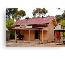 Australian Heritage Town Canvas Print