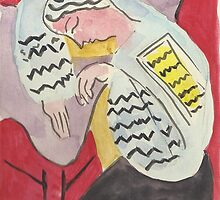 Postcards from Europe - a study of Matisse's, The Dream' by Gary Shaw