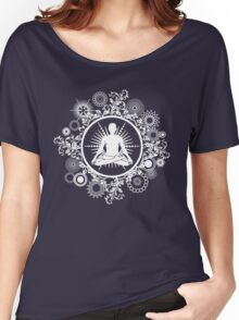 Inner Being - white silhouette Women's Relaxed Fit T-Shirt