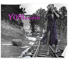 Honey Bee's Purple Passion on YONImodels Poster