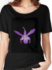 Purple Orchid TShirt Hoodie Women's Relaxed Fit T-Shirt