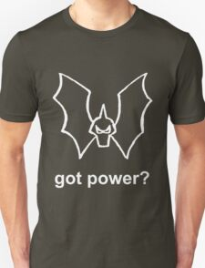 Got Power - She-Ra Horde Logo - White Line Art & Font T-Shirt