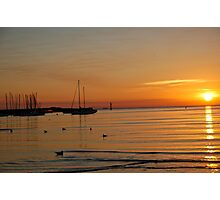 Ocean Sunset Photographic Print