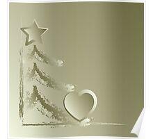 Heart for Christmas Poster