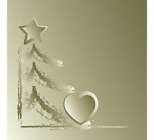 Heart for Christmas Photographic Print