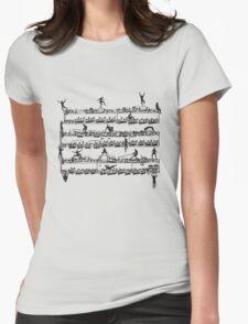 Mozart Men Womens Fitted T-Shirt